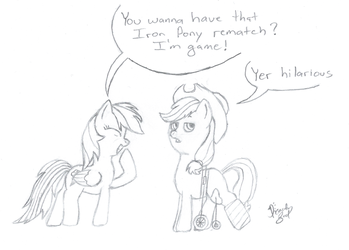 Artist Training Grounds - Day 11 by Picardy-Third