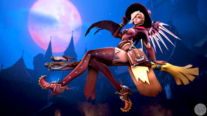 Witch Miss by SFM-ShatteredKnives