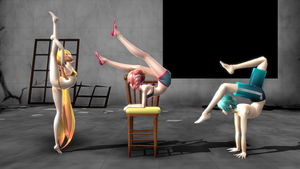 MMD||Bendy Vocaloids(+Pose Pack DL) by myteddygosmo