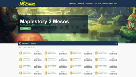 MS2Store.com screenshot by ms2store
