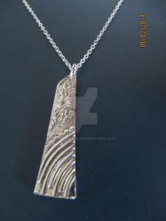 Upcycled Silver Pendant by lousephyr
