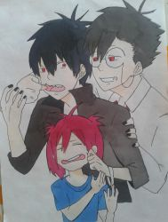 that is sibling love ^^ (Blood Lad) by Mahiro12