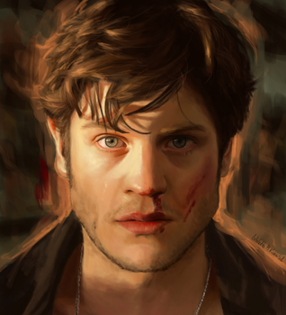 Iwan Rheon by Viollethien