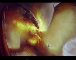 Speed Paint 23- Dragon by AnthonyDevine