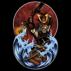 Six String Samurai by artist Steez by Design-By-Humans
