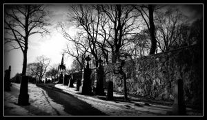 Cemetery by MarchCoven