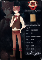 .: CdR - App Sheet - Noah :. by Lanahx3