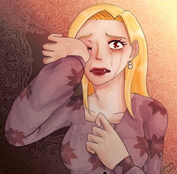 She is crying by Levies