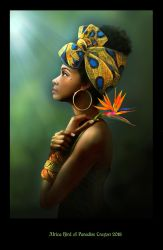 Beauties of the world 4 - Africa by crayonmaniac