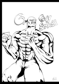 GUY SMASH! by Kordian678