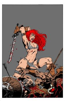 RedSonja highres by ggareau