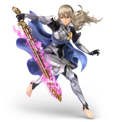 Super Smash Bros. Ultimate - Corrin FEMALE Render by CynicSonic