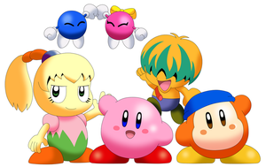 Kirby Gang by Alex13Art