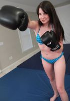 BOXING BABE: Jessica Nicole by sleeperkid