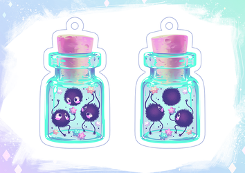 Soot Sprites Charm by Qesque