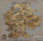 Map of Lunduria by RaVirr17