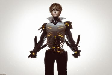 Hero S-class - Genos. One Punch Man by GeshaPetrovich