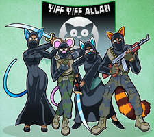 Furry ISIS by curtsibling