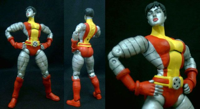 Marvel Colossus female custom by custommaker