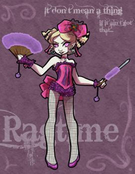 Ragtime burlesque by Warlord-of-Noodles