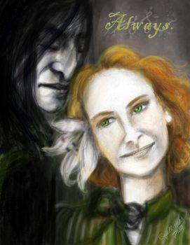 Always by Severus-x-Lily