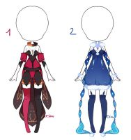 {Closed} Auction Outfit 178 - 179 by xMikuChuu