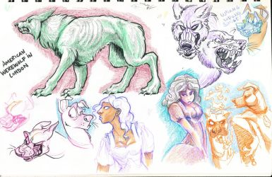 Sketches july 29 2010 10 by FablePaint