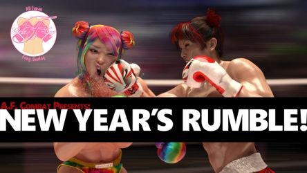 Now on lulu.com: NEW YEAR'S RUMBLE! by AFCombat