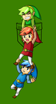 Pocket Tri Force Heroes by TheDody36