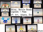 Battle Ready Shinies + Legends for Trade [ Open ] by GladionsPokeCenter