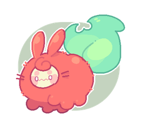 uh oh i dropped a bean by plushpon
