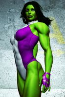The Sensational She Hulk by FredAckerman