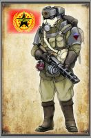 Protectorate Trooper by DreamForge-Games