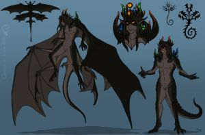 Taegan, The Unholy Deity - Reference by Lamaohi