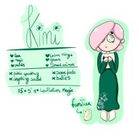 my oc Kimi by colorycloud