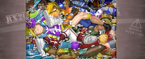 A Pile of Guys, Chillin' by RadenWA