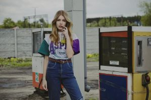 Petrol station by haania