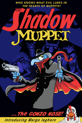 The Shadow Muppet by thehorribleman