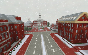 Minecraft Winter by skysworld