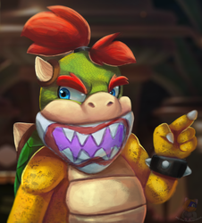 Prince Bowser Jr by HG-The-Hamster