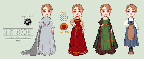 Sorceress Designs by Randromeda