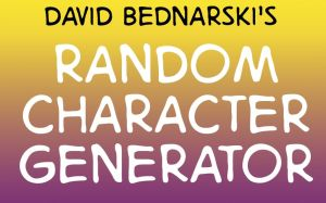 Character Generator - 4 Excel by DBed