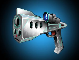 No Name Blaster Pistol  by DLNorton