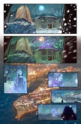 Witchblade #4 page 07 by BryanValenza