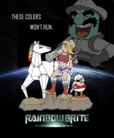 Rainbow Brite ala Michael Bay by Celtzombie
