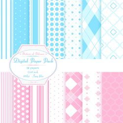 Baby designs paper pack by PicturesOfPelicans