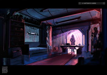 Captain's cabin by UnccleUlty