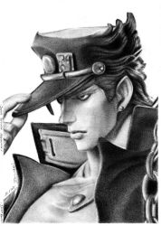 Jojos Bizzare Adventure - Jotaro Kujo by PatrisB