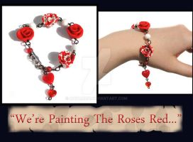Painting Roses Bracelet SOLD by natamon