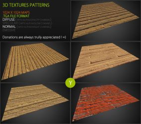 Free Textures Pack 62 by Yughues